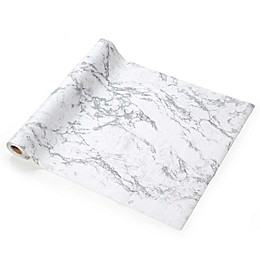 Con-Tact® Grip Print Non-Adhesive Shelf Liner in Midnight Marble