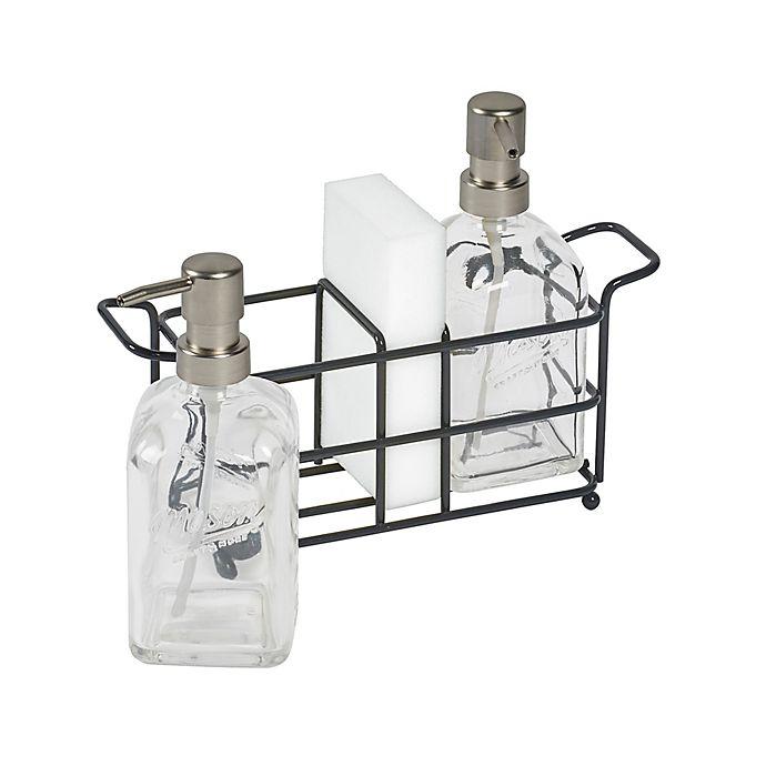 Alternate image 1 for Mason Craft & More 4-Piece Kitchen Sink Organizer Set