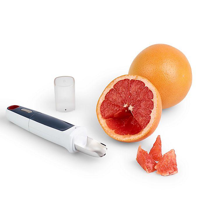 Alternate image 1 for Zyliss® Twist & Scoop Grapefruit Tool in White/Multi