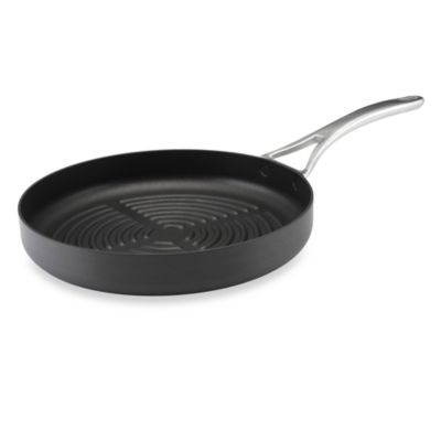 Anolon 174 Nouvelle Copper 12 Inch Round Grill Pan Bed Bath