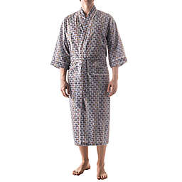 Majestic International Print Kimono Robe