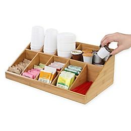 Mind Reader Coffee Condiment Organizer In Brown