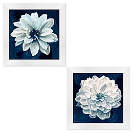 Indigo Floral Framed Wall Art Collection
