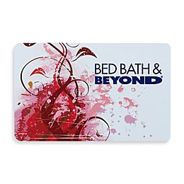 Red Swirl Gift Card