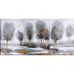 ArtMaison Canada Treeline 60-Inch x 30-Inch Canvas Wall Art