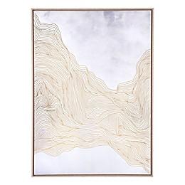 Gentle 41-Inch x 57-Inch Framed Wall Art