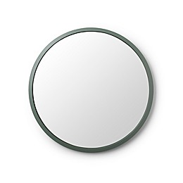 Umbra® Hub 24-Inch Round Wall Mirror in Spruce