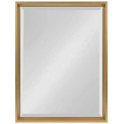 Kate and Laurel Calter Beveled Frame Decorative Wall Mirror