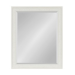 Kate and Laurel Alysia Wall Mirror in White