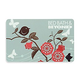 Pink Flowers Gift Card