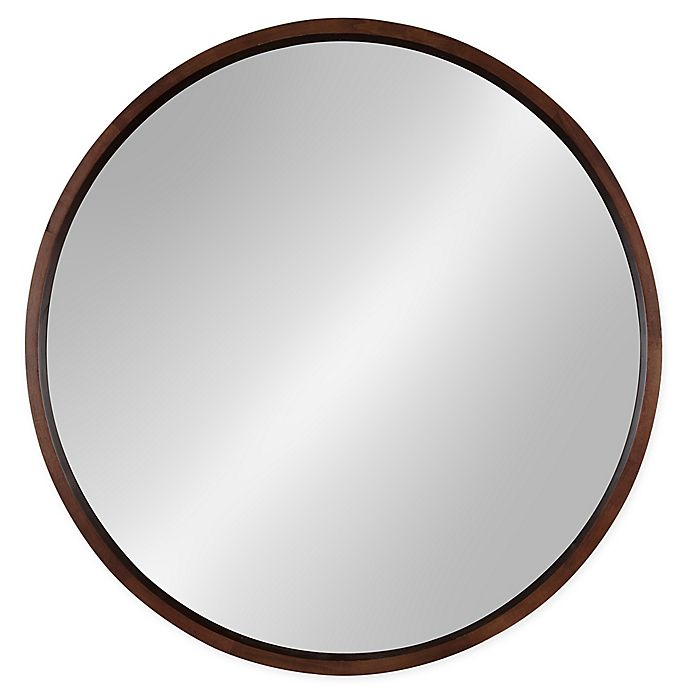 Alternate image 1 for Kate and Laurel Hutton 30-Inch Round Wall Mirror