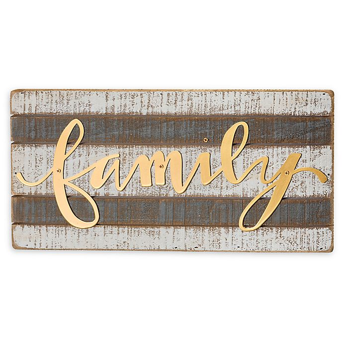 Alternate image 1 for Primitives By Kathy® 12-Inch x 6-Inch Wood Wall Art