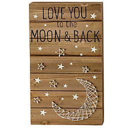 Primitives by Kathy® To the Moon String Wall/Tabletop Art