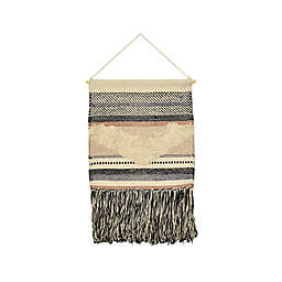 Fetco Home Décor™ Victon 47-Inch x 25-Inch Woven Macrame Wall Art