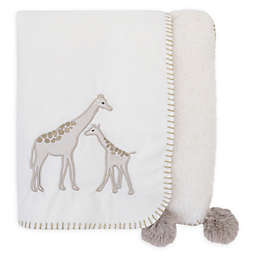 NoJo® Serendipity Mix and Match Giraffe Applique Blanket in Ivory
