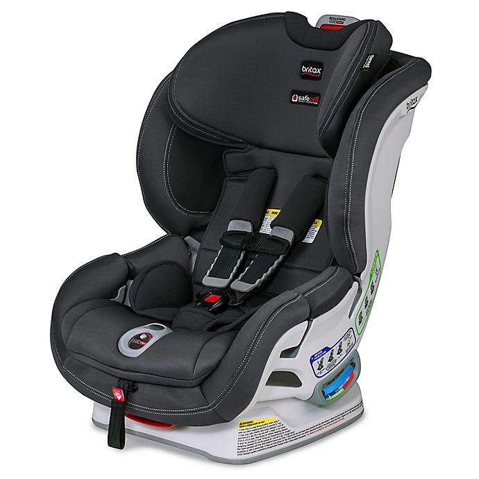 Britax Boulevard Click Cool N Dry Collection Convertible Car Seat In Charcoal