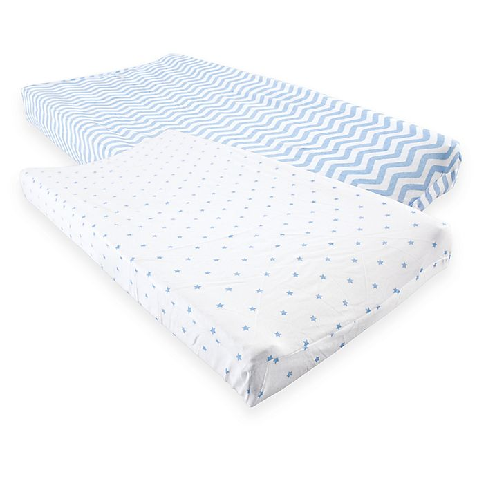 Alternate image 1 for Luvable Friends® Changing Pad Covers (Set of 2)