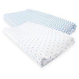 Luvable Friends® Changing Pad Covers (Set of 2)