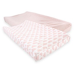 Hudson Baby® Cloud Changing Pad Covers (Set of 2)