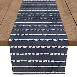 Designs Direct Stripes Table Runner in Navy