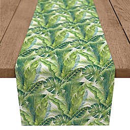 Designs Direct Palm Table Runner in Green