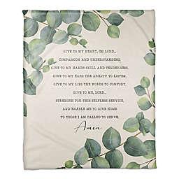 Nurse's Prayer 50x60 Throw Blanket