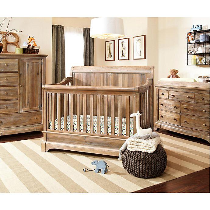 Bertini Pembrooke Nursery Furniture Collection In Rustic Natural