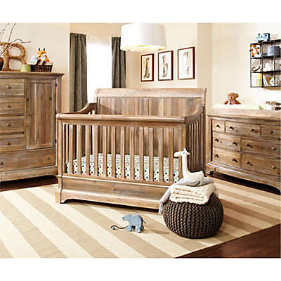 Bertini Pembrooke Nursery Furniture Collection in Rustic Natural