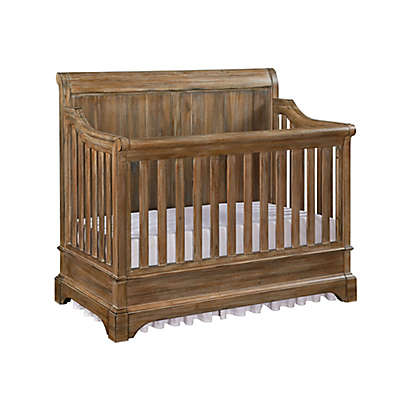 Bertini Pembrooke 5-In-1 Convertible Crib in Rustic Natural