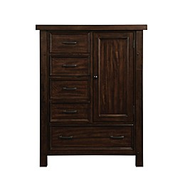 Bertini® Timber Lake Chifforobe in Dark Walnut