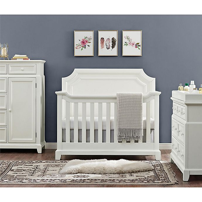 Alternate image 1 for Bertini Lafayette Nursery Furniture Collection in French White Lace