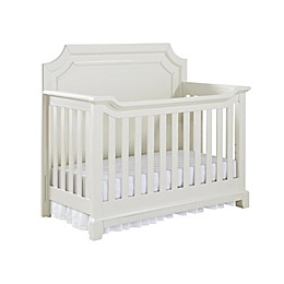 Bertini Lafayette 5-in-1 Convertible Crib in French White Lace