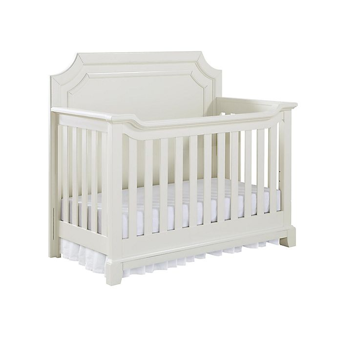 Alternate image 1 for Bertini Lafayette 5-in-1 Convertible Crib in French White Lace