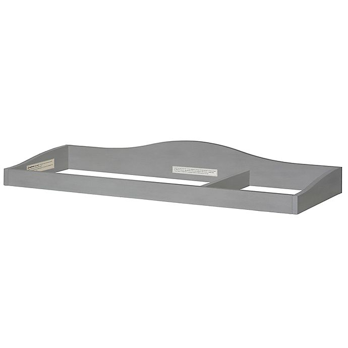 Alternate image 1 for évolur™ Universal Changing Topper in Storm Grey