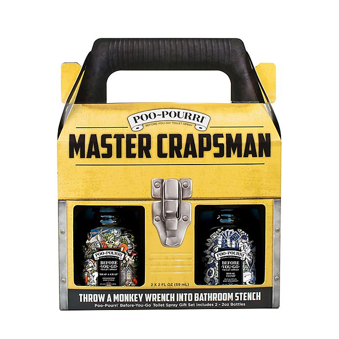 Alternate image 1 for Poo-Pourri® Before-You-Go® Master Crapsman Odor Eliminating Set