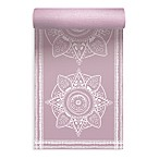 Oak and Reed© Medallion 4mm Yoga Mat in Mauve