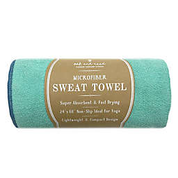 Oak and Reed© Microfiber Yoga Towel in Teal