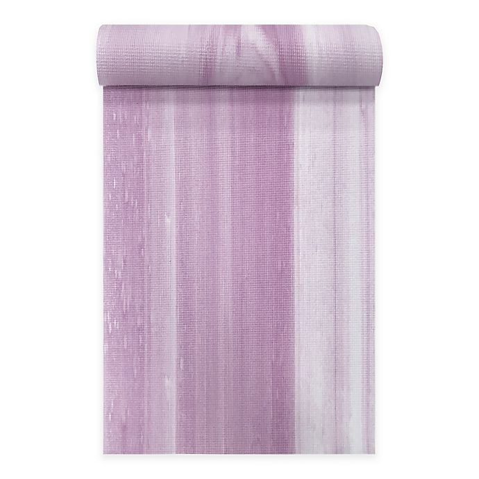 Oak And Reed 169 Paintstrokes 4mm Yoga Mat In Mauve Bed