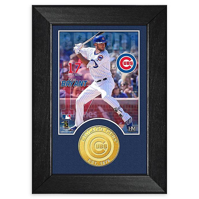 Alternate image 1 for MLB Kris Bryant Bronze Coin Mini Photo Mint