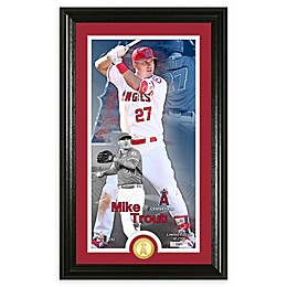 MLB Mike Trout Supreme Bronze Coin Photo Mint