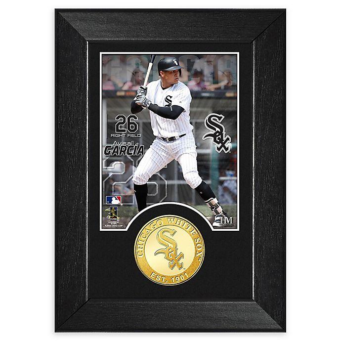 Alternate image 1 for MLB Avisail Garcia Bronze Coin Mini Photo Mint
