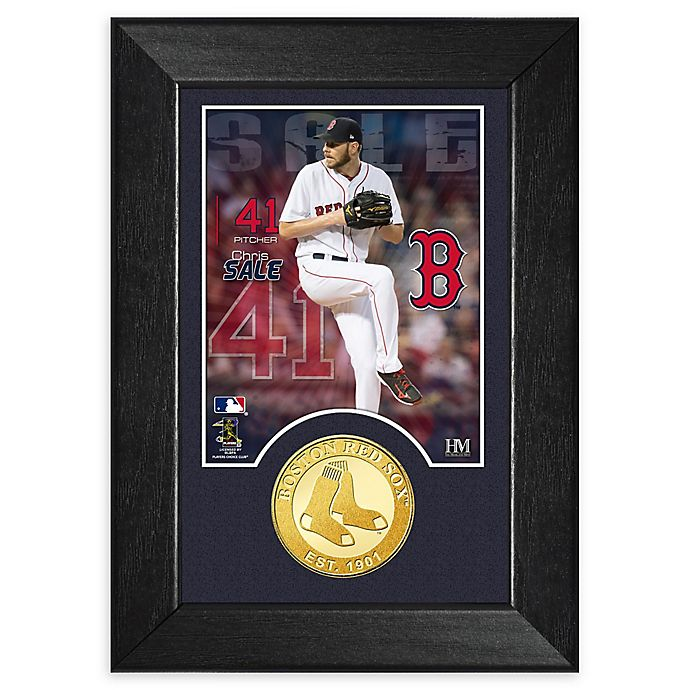 Alternate image 1 for MLB Chris Sale Bronze Coin M-Series Photo Mint