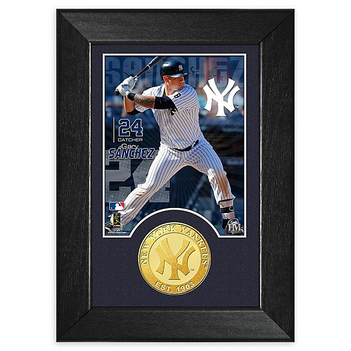 Alternate image 1 for MLB Gary Sanchez Bronze Coin M-Series Photo Mint