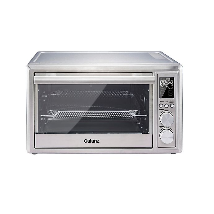 Alternate image 1 for Galanz Digital Toaster Oven with Air Fry in Stainless Steel