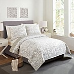 Chanely King Quilt in Grey