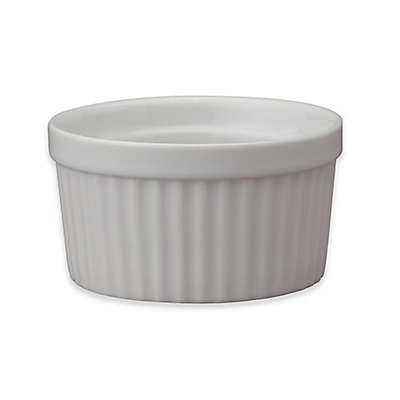 White Porcelain 4-Ounce Souffle