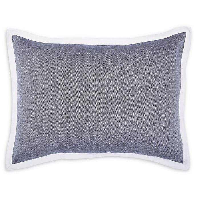 Alternate image 1 for Carol & Frank Roscoe Standard Pillow Sham in Indigo
