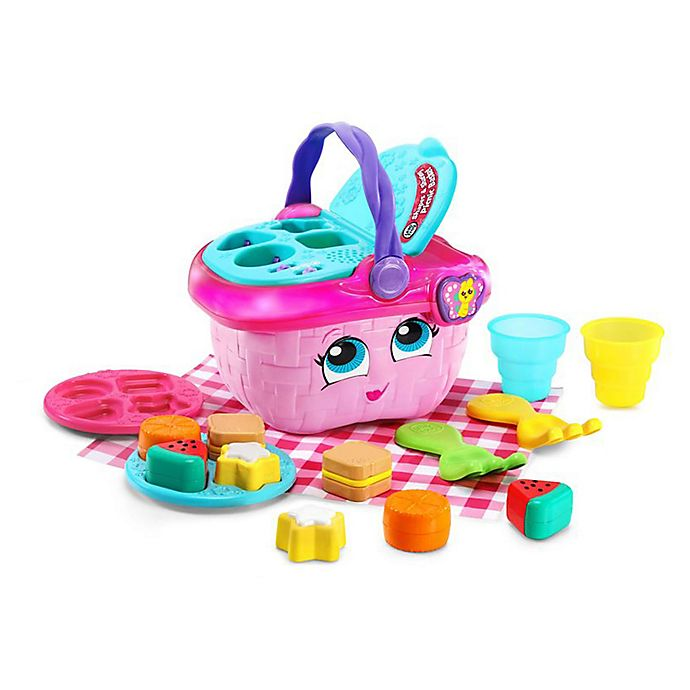 Alternate image 1 for LeapFrog® Shapes & Sharing Picnic Basket in Pink