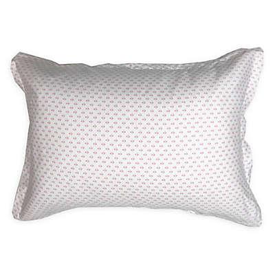 American Colors Emily Madison Diamond Boudoir Pillow Sham in Pink/Purple