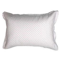 American Colors Emily Madison Diamond Standard Pillow Sham in Pink/Purple
